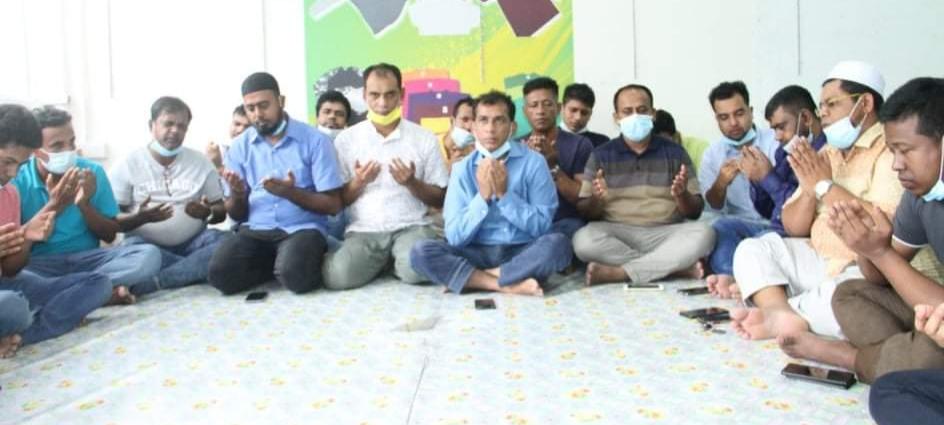 বাংলাদেশ জাতীয়তাবাদী স্বেচ্ছাসেবক দল মালয়েশিয়া শাখার উদ্যোগে দোয়া ও আলোচনা সভা অনুষ্ঠিত