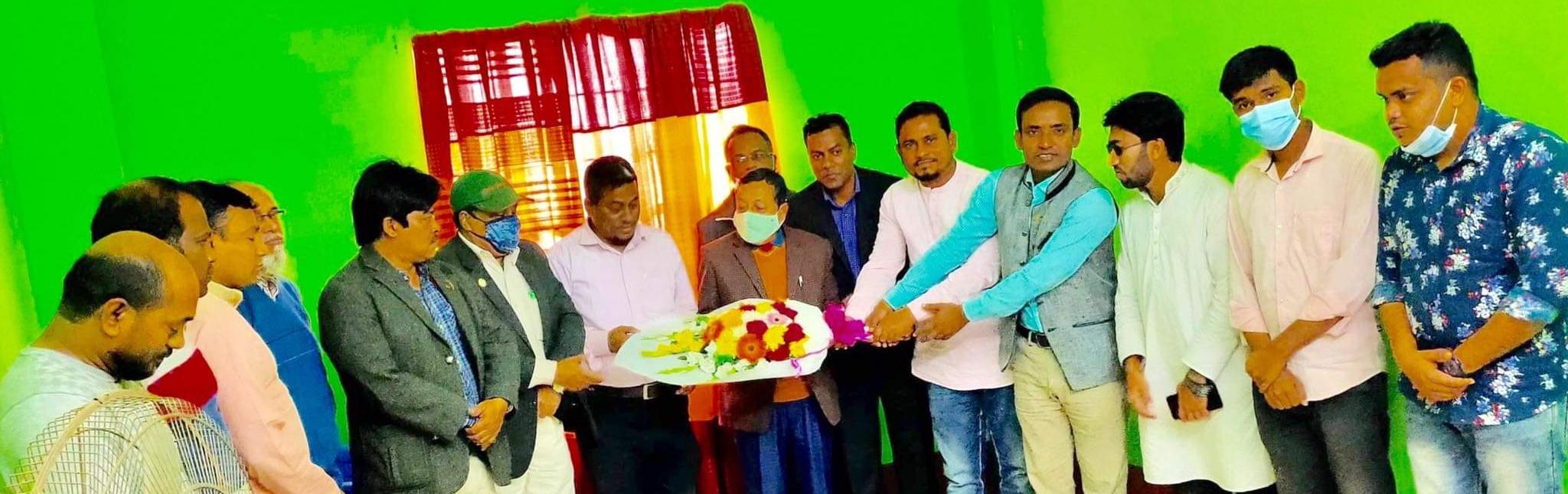 ব্রাহ্মণবাড়িয়া টিভি সাংবাদিকদের সাথে আখাউড়া টিভি সাংবাদিকদের মত বিনিময়